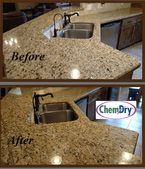 Chem Dry Cleaning Service: Granite Countertop Renewal   Chem Dry Of  Stratford